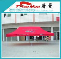 Waterproof steel frame folding 20 x 20 canopy tent