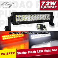 wholesale 300w strobe flash car led driving light bars