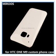 small&mass production acceptable blank case oem cellular phone accessory for htc one m9