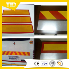 Custom Yellow 3M HIP Reflective Stickers For Car