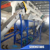 scrap plastic recycling washing line /film scrap washing line/plastic scrap washing machine