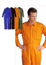 Una variedad de modelos y colores uniformes ropa de trabajo overal