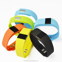 2015! HOT selling OLED Bluetooth wristband smart watch , sports , message , call reminder smart watch TW64