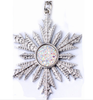 Frozen Princess Once Upon A Time Show Snowflake Elsa Necklace Pendant Silver