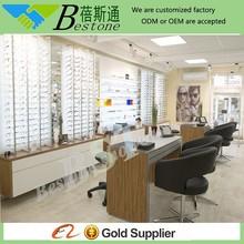 Store decorating ideas furniture for optical, eyewear display case