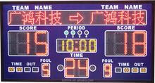 High brightness wireless outdoor/indoorelectronic scoreboard wireless remote control
