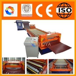 Easy-operated zinc corrugated making machine