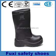 soft safety boots for men genuine leather hard work shoes rocky safety shoes