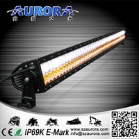 50inch two color led bar light with CE RoHS IP69K waterproof offroad lamp