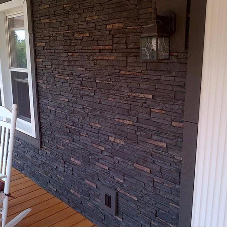 artificielle polyur thane pierre panneau mural d coratif belle conceptions de briques de faux. Black Bedroom Furniture Sets. Home Design Ideas