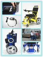 Indoor outdoor power Commode Detachable wheelchairs