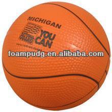 promotional PU foam anti stress Basketball