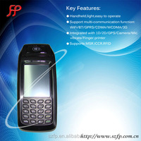 RFID Android PDA handheld 1D/2D Barcode Scanner pos terminal FP396