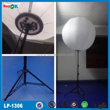 High quality inflatable stand light balloon with tripod, inflatable standing sphere for sale