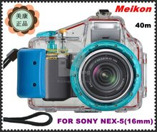 waterproof 40M digital camera case camera accessory for Sony Nex 5(16mm)