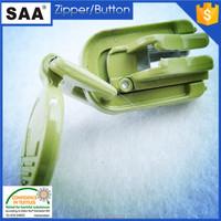 Cheap beautiful metal pull for Auto lock zipper slider