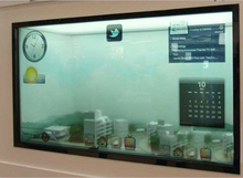 2015!Cheap new products lcd video walls transparent led display