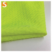 High Quality Knitted Polyester Spandex Double Face Seersucker Jacquard fabric