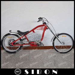 SIBON 750W lead acid battery electric bike chopper