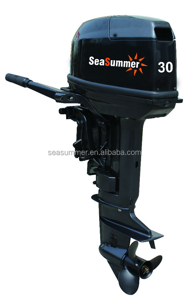 Two stroke outboard motors used boat engine for sale 30hp Two stroke outboard motors