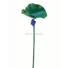 40'' height artificial plastic latex EVA polyester lotus leaf water lily leaf for water pool fountain waterfall decoration