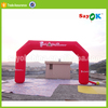 new products 2014 cheap inflatable rainbow arch price for sale