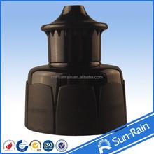 Plastic Closures Push Pull CAP&CLOSURE black plastic bottle sharp cap closures yuyao
