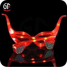 Hot For Adult Christmas Led Toys New Branded Plastic Led Sunglasses