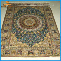 handmade silk persian design baby rugs