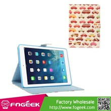 Fast Shipping For iPad Air 5 Cars & Buses Durable PU Leather Smart Case with Bracket Stand