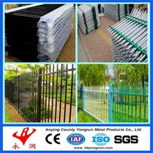Metal tube/pipe fencing barrier for villa security