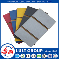slotted mdf/slat wall mdf sheet/grooved mdf