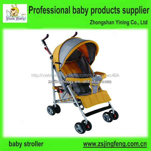 Nhà máy european xe đẩy em bé, xe đẩy em bé với lưu trữ giỏ