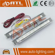 Latest drl 10w daytime running light drl round 4w led
