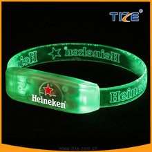 Hot selling Christmas promotion gifts led wristband latest design christmas products