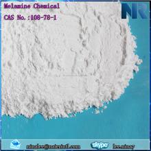 Polvo blanco melamina melamina, melamina polvo químico