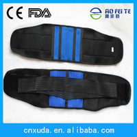 2014 new design certified lumbar back suppport brace to relief lower back pain