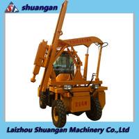 China Supplier Guard Rail Hydraulic Pile Driver