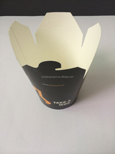 fast food noodle packing paper box