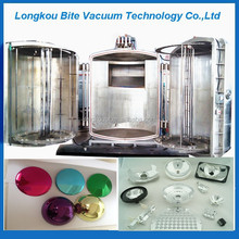 ABS/PP/PMMA Plastic Vacuum Plating Machine for decorative film in various plastic products and glass/aluminum-coated film