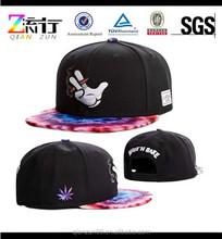 2015 New men's fashion bboy brim adjustable baseball cap snapback hat hip-hop cap