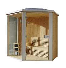 outdoor Finland sauna room M-6012