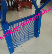 Turkey market 2.5m height 2.23m width pvc coated 358 fence