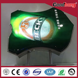 customized acrylic vacuum foming light box sign