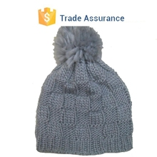 New Custom Design Knitted Hat For Man Mens Winter Hat Beanies