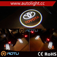 3 Minute Install 2015 New product led car door logo laser projector light for All Brand Car