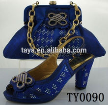italian shoes and bags to match women ladies shoes and matching bags TY0090 royal blue