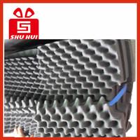 Chinese wholesale sound insulation pad, acoustic foam panels, high density wave studio foam