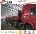 Tubo galvanizado china barato material de construção