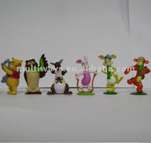 OEM collection cartoon animal figure plastic toys MW-B013